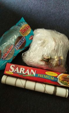 How to Make the Saran Wrap Ball game filled with gifts and loads of fun! - YouTube   Games ...
