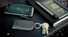 The mophie powerstation reserve micro key chain USB charger gives you portable battery backup power to charge your smartphone and USB devices.