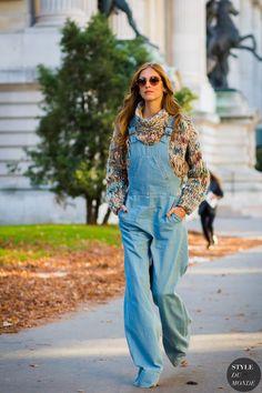 Paris Fashion Week SS 2016 Street Style: Chiara Ferragni