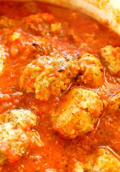Ultimate Meatballs inTomato Sauce. These are the best meatballs! And the is too easy to believe but will become your go-to Italian sauce recipe.