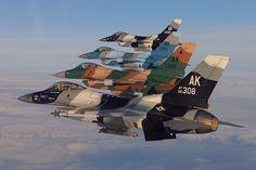 General Dynamics F -16s