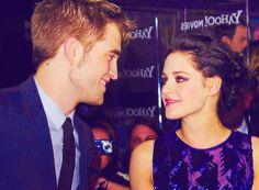 Robert Pattinson and Kristen Stewart.......