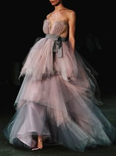 notordinaryfashion:  empirewaistlines:  Ethereal gown by Christian Siriano - 2013  Love