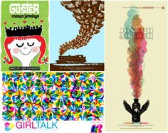 indie band music posters |
