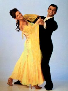 I've got another #TBT for ya! Repin for your chance to win this print of Sara and #DWTS partner, @TonyDovolani, plus an autographed sticker!