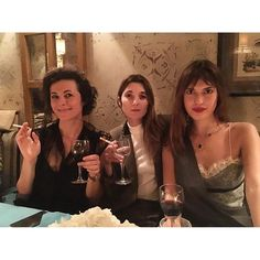 """With my favorites French girls  @garancedore @loljacobs"" Photo taken by @jeannedamas on Instagram, pinned via the InstaPin iOS App! http://www.instapinapp.com (03/02/2016)"