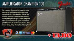 La Púa San Miguel: Amplificador de Guitarra FENDER CHAMPION 100