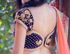 Puff saree blouse sleeve designs