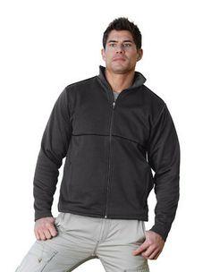 Bare Clothes - Notion 7.7 oz. lightweight 100% polyknit fleece full-zip jacket, $59.50 (http://www.bareclothes.com/notion-7-7-oz-lightweight-100-polyknit-fleece-full-zip-jacket/)
