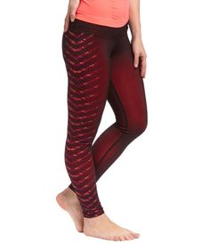 Love this Alarm Graphic Allure Leggings by Respect Your Universe on #zulily! #zulilyfinds
