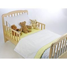 American Baby Company Toddler Bedding Set - Blue and Maize