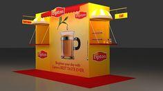 Lipton Outdoor Setup Design by Shahzad ShaZee, via Behance