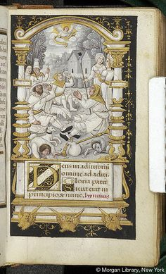 Book of Hours, MS M.632 fol. 57r - Images from Medieval and Renaissance Manuscripts - The Morgan Library & Museum