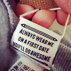 15 Of The Funniest Clothing Tags From Designers With A Sense Of Humor.