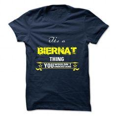 I love it BIERNAT Tshirt blood runs though my veins