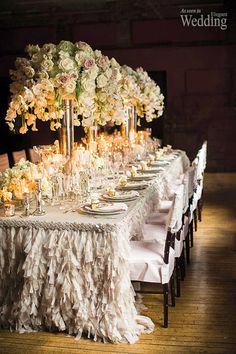 Long Wedding Tables - Belle the Magazine . The Wedding Blog For The Sophisticated Bride