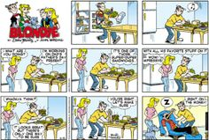 Blondie Cartoon for Jun/15/2014