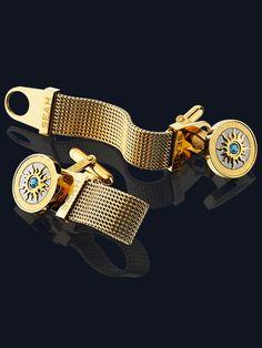 Crown Of Light® Men's Cufflinks - Gold
