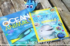 A Modern Day Fairy Tale: Dive Into Summer with National Geographic Kids & Finding Dory {An Oceans Book & Dory Plush Giveaway} #FindingDory