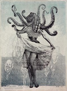 Octopuss woman - jason cantoro