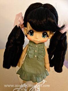 ggsdolls: Trying Wigs on Kikipop!