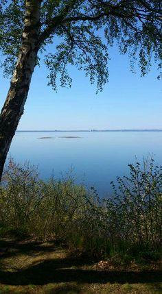Utsikt över Vänern från Kinnekulle