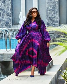 Long African Dresses, Latest African Fashion Dresses, African Inspired Fashion, African Print Fashion, Nigerian Dress Styles, Ankara Styles, Ghana Fashion, Women's Fashion, African Attire