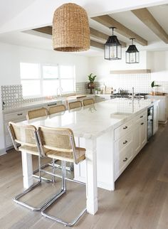 A Bright and Casual Home from Kathryn Miller Interiors - Inspired by This