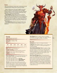 [5e][Monsters] Lynesth's Book of Wonderful Creatures - Album on Imgur