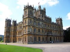 """Highclere Castle, the grand manor house used in the PBS drama """"Downton Abbey"""""""