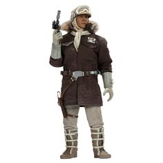 Image of Sideshow Collectibles Star Wars Captain Han Solo Hoth 1:6 Scale Figure