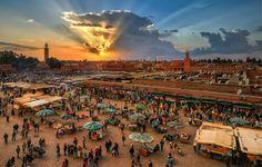 Marrakech es uno de los destinos turísticos de Marruecos
