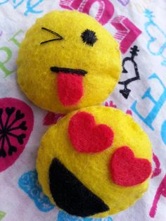 **PLEASE LEAVE EMOJI FACE YOU WOULD LIKE IN NOTES FOR SELLER. MUST BE YELLOW EMOJI FACE**  Happiness, sadness, love, anger, embarrassment, and more, emojis are there to help us out when words aren't enough.  Emoji hair clips are here! Happy or sad rain or shine adorable cuties are perfect of ...