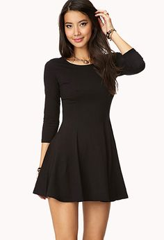 Heathered Skater Dress | Forever 21 - 2000163566 | Teen Fashion 4 ...