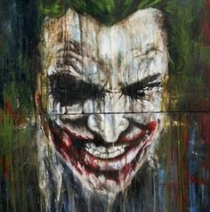 Joker images pics photo we have shared best joker images in hd wallpapers for android and all os. joker is evil character in batman movies and love very Joker Wallpapers, Comic Art, Comic Heroes, Painting, Dc Comics, Art, Im Batman, Batman Universe, Batman Joker