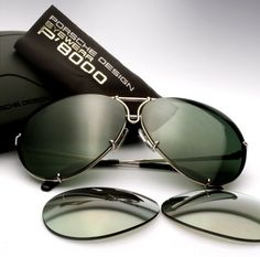 Nice Cars accessories The Classicist: Made in the Shade - Porsche Design Heritage Collection. Round Sunglasses, Mirrored Sunglasses, Sunglasses Case, Sunnies, Brad Pitt, Jennifer Lopez, Porsche Design Sunglasses, Porch Kits, House With Porch