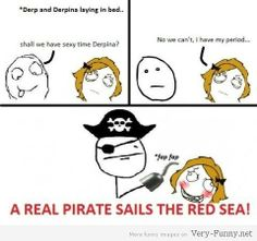 A real pirate! Very Funny Quotes, Very Funny Gif, Very Funny Pictures, Funny Images, Derp, Haha, Humor, Comics, Memes