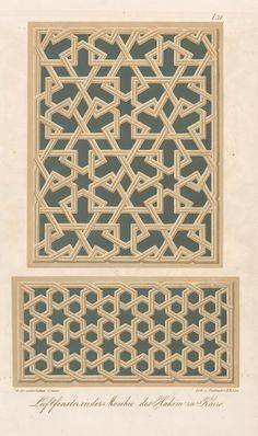 Laftfenster in der Moschee des Hakim zu Kairo