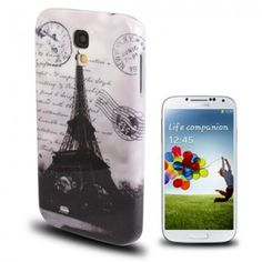 Paris Eiffel Tower Pattern Case for Galaxy S4
