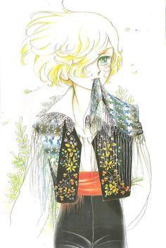 fehyesvintagemanga:  Gilbert from Takemiya Keiko's Kaze to Ki no Uta (song of the Wind and the Trees)