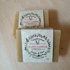 Tanglewood Organic Soap - Happy Camper Citronella - $4.50
