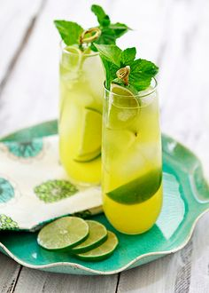 Click here to get this Pineapple Limeade Cooler recipe!