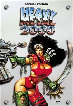 Available in: DVD.Michael Coldewey and Michel Lemire's Heavy Metal 2000 comes to DVD with a widescreen anamorphic transfer that preserves the Heavy Metal Movie, Heavy Metal Girl, Simon Bisley, Science Fiction, Comic Art Girls, Pokemon, Billy Idol, Metal Magazine, Fantasy Comics