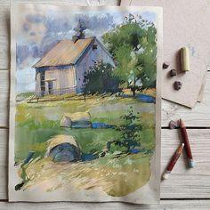 Pastel painting by irinaklimova