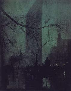 "Edward Steichen, ""The Flatiron"", 1904 -repinned by Los Angeles County & Orange County portrait photographer http://LinneaLenkus.com  #portraits"