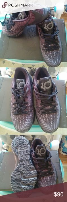 Nike KD 8 Blackout Shoes GS Size 4y Kevin Durant V New in box Nike Shoes Athletic Shoes