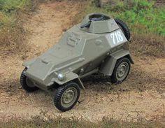 "1:72 BA-64 1942 th Soviet armored car Fabbri scale model ""Russian Tanks""  #GeFabbri #BA64"