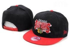 RSS Product Feed :: Wholesale - Chicago Blackhawks Snapback Hats Black Red NHL New Era 59Fifty Cap