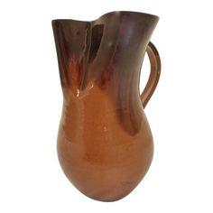 Image of Carolina Art Pottery Water Pitcher