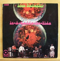 IRON BUTTERFLY - In-a-gadda-da-vida - vg++ Vinyl LP - 1968 - Atco - Top Rare